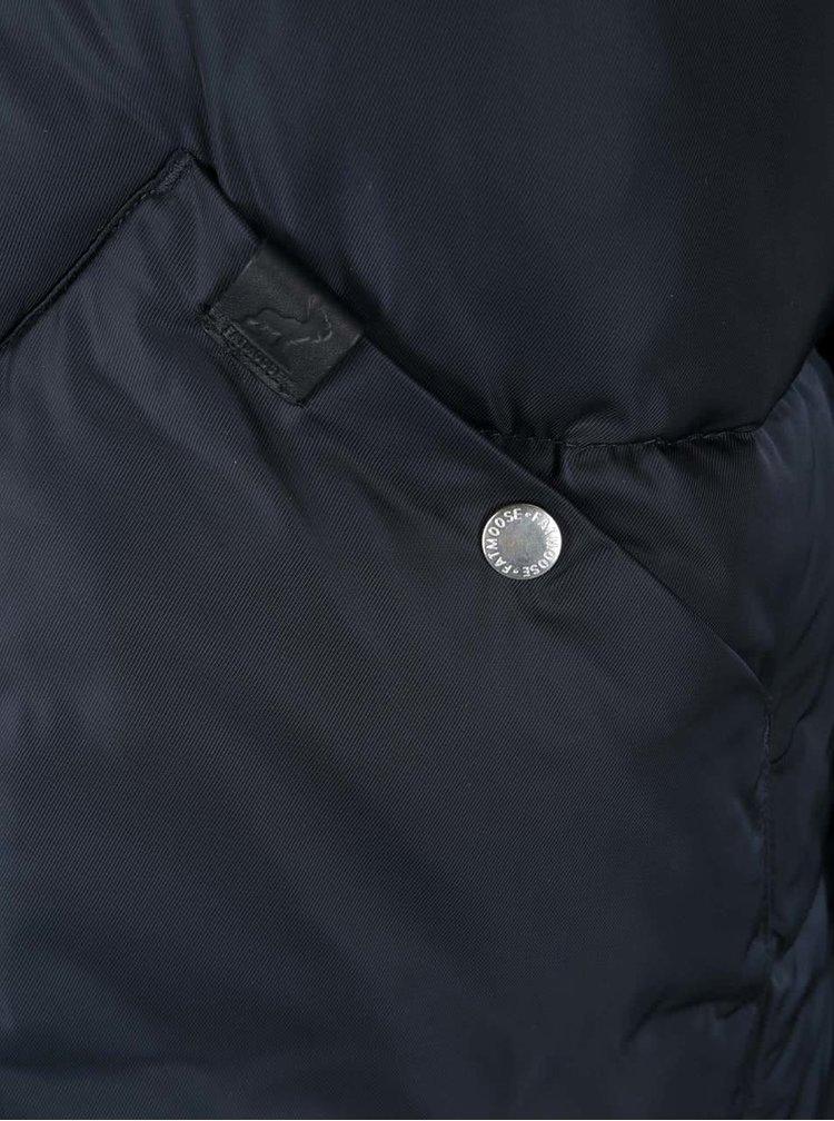 Tmavomodrá zimná bunda Fat Moose Canada