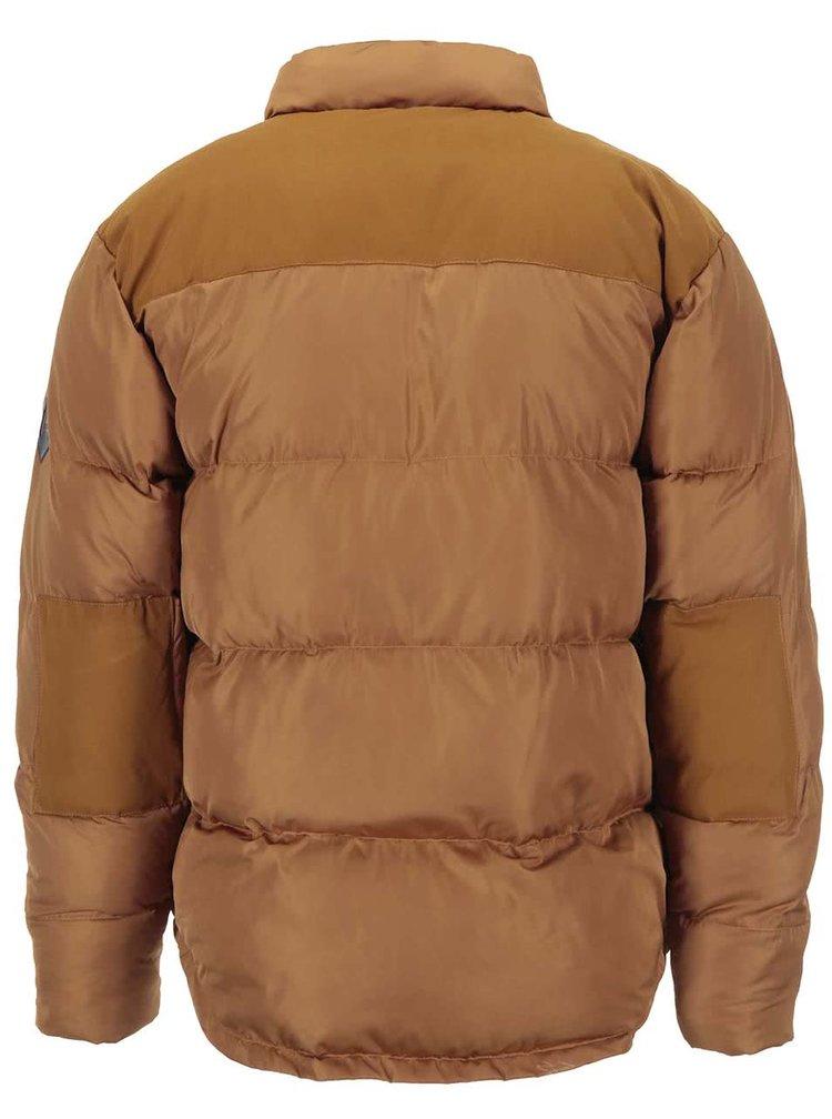 Hnědá zimní bunda Fat Moose Canada