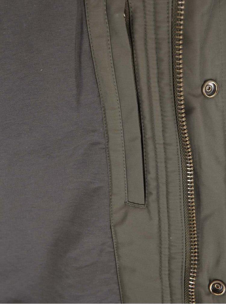Khaki zimní bunda Fat Moose Hiker