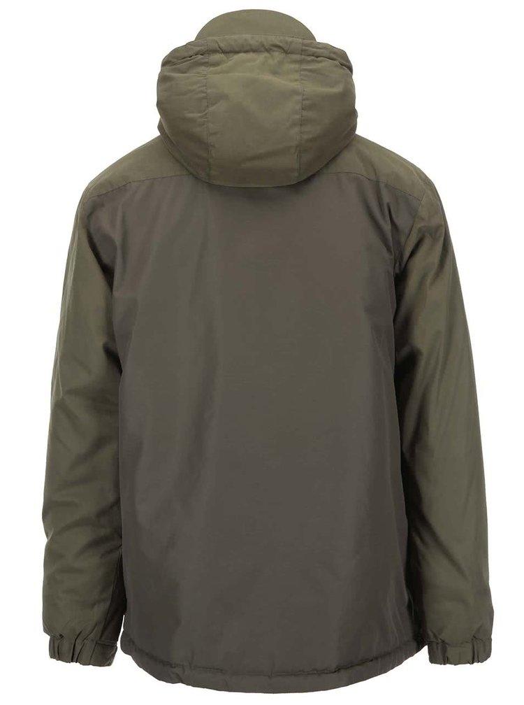 Kaki zimná bunda Fat Moose Hiker