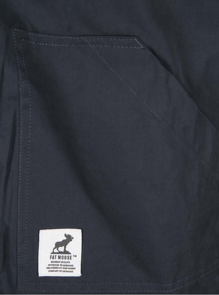 Modrá zimní bunda Fat Moose Sailor
