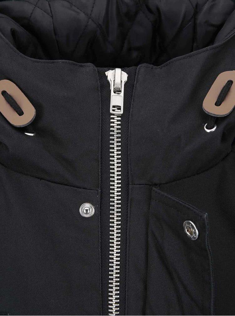 Čierna zimná bunda Fat Moose Outskirts