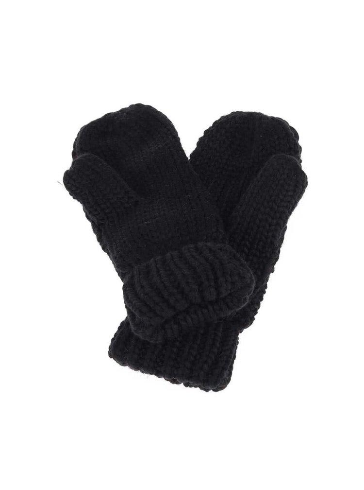 Černé rukavice s kamínky Roxy Shooting Star
