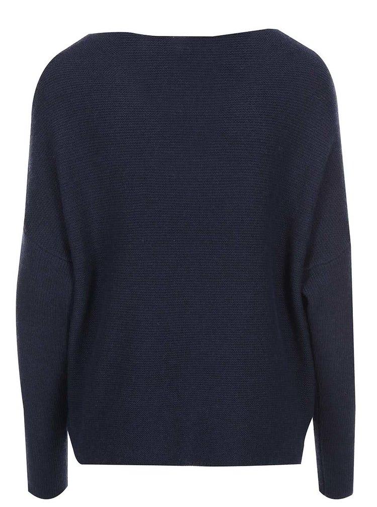 Tmavě modrý svetr s.Oliver