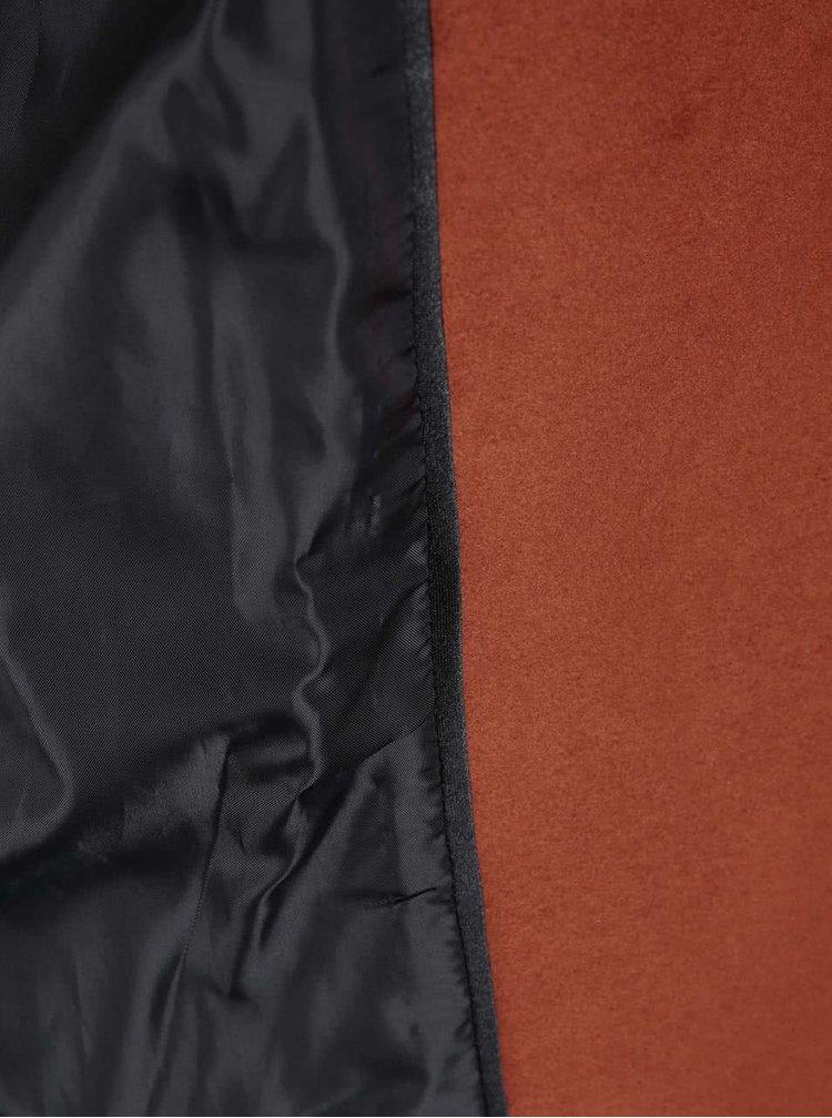 Kabátová vesta v cihlové barvě Dorothy Perkins