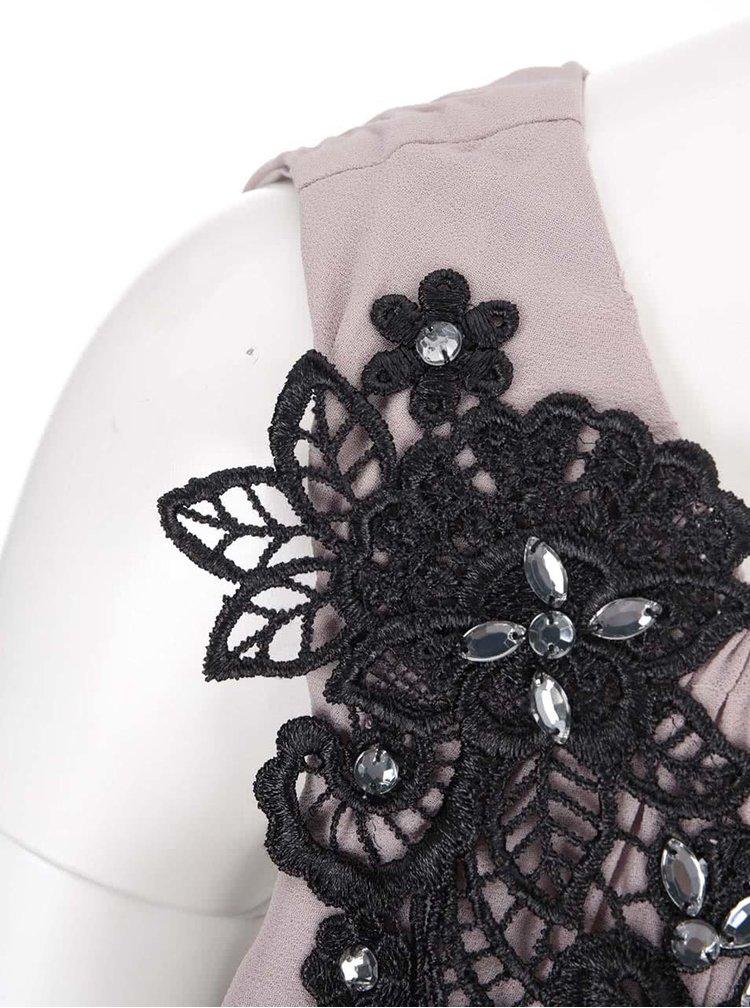 Staroružové šaty cez jedno rameno Dorothy Perkins