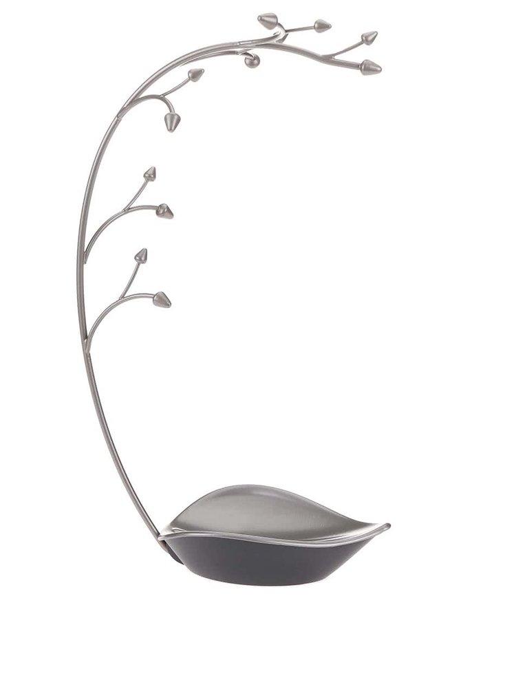 Šedý ocelový stojánek na šperky Umbra Orchid