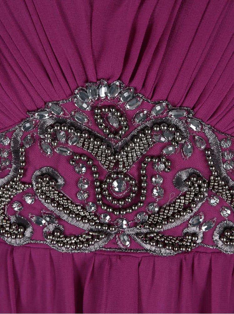 Ružové šaty s ozdobným pásom Dorothy Perkins