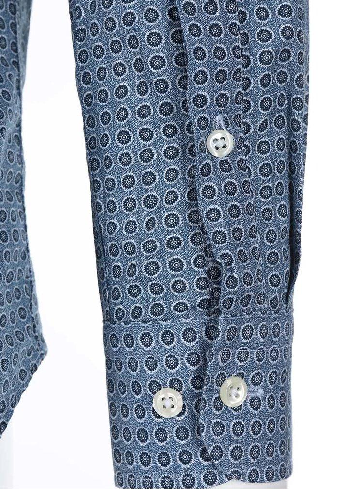 Modrá vzorovaná košile J.Lindeberg Dani