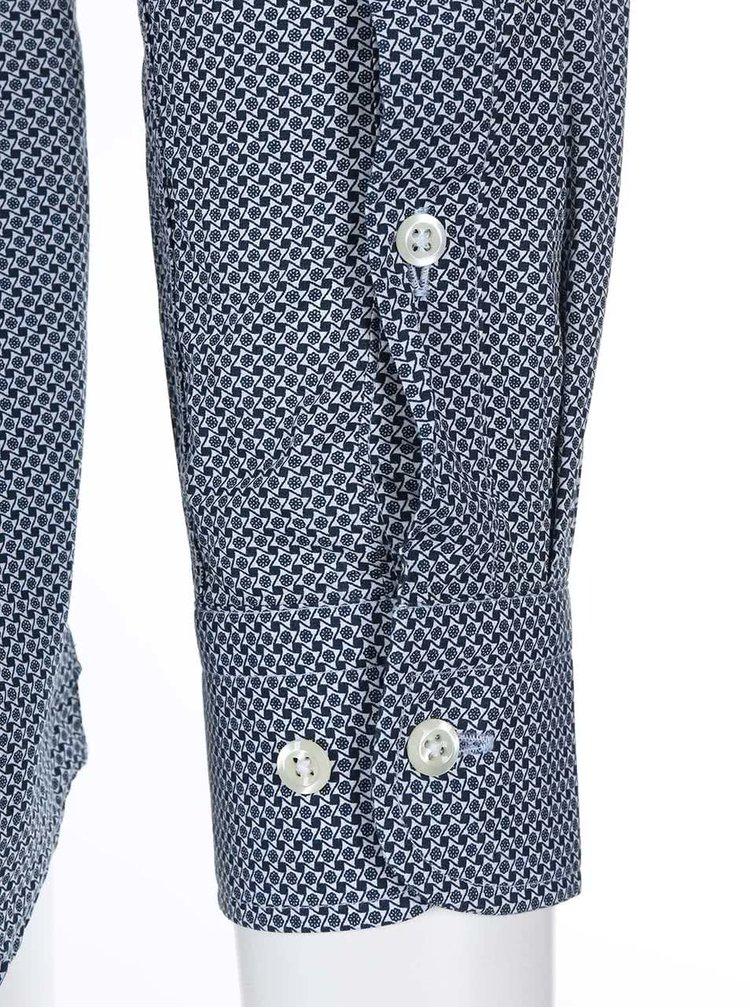 Svetlomodrá vzorovaná košeľa J.Lindeberg Dani