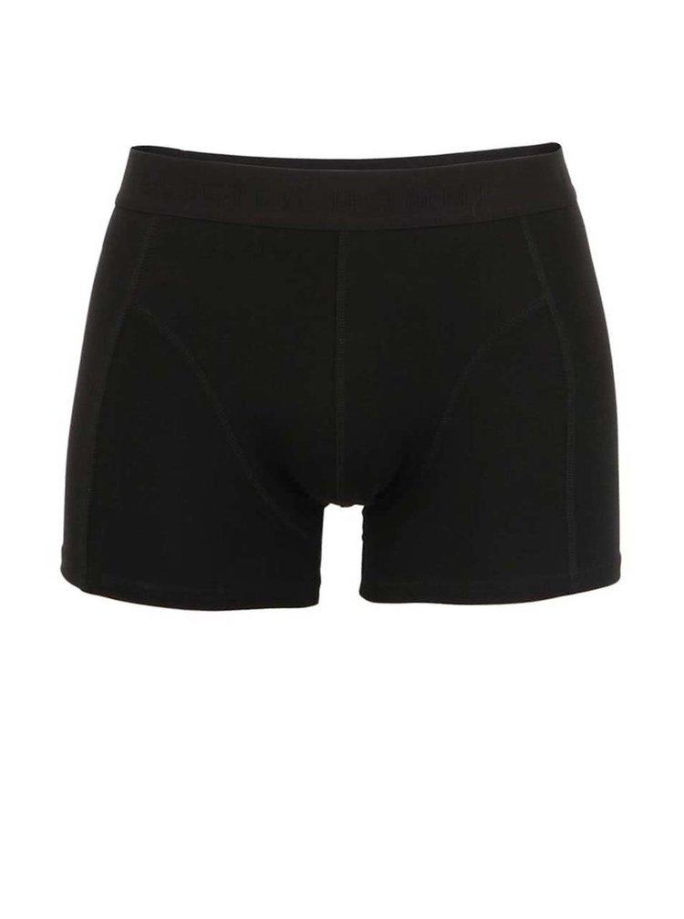 Černé boxerky Selected Homme Basic