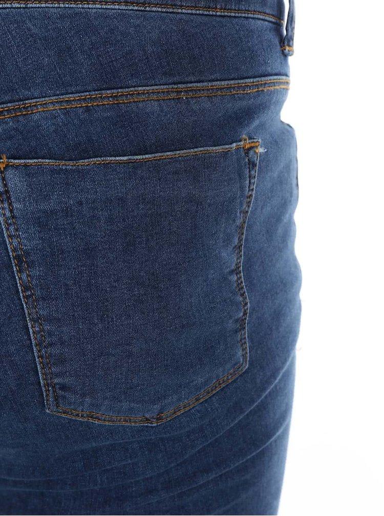 Modré strečové džíny Dorothy Perkins Curve