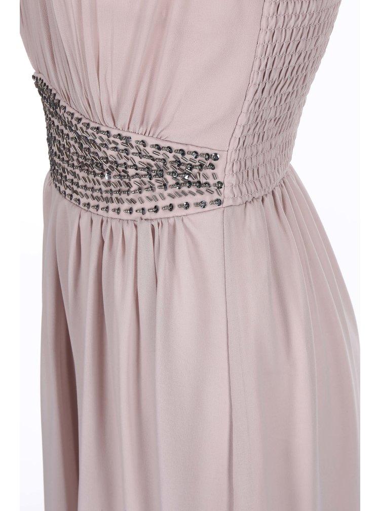 Starorůžové maxi šaty Dorothy Perkins