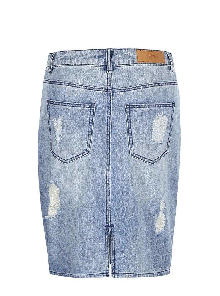 VERO MODA Selma Blue Denim Skirt