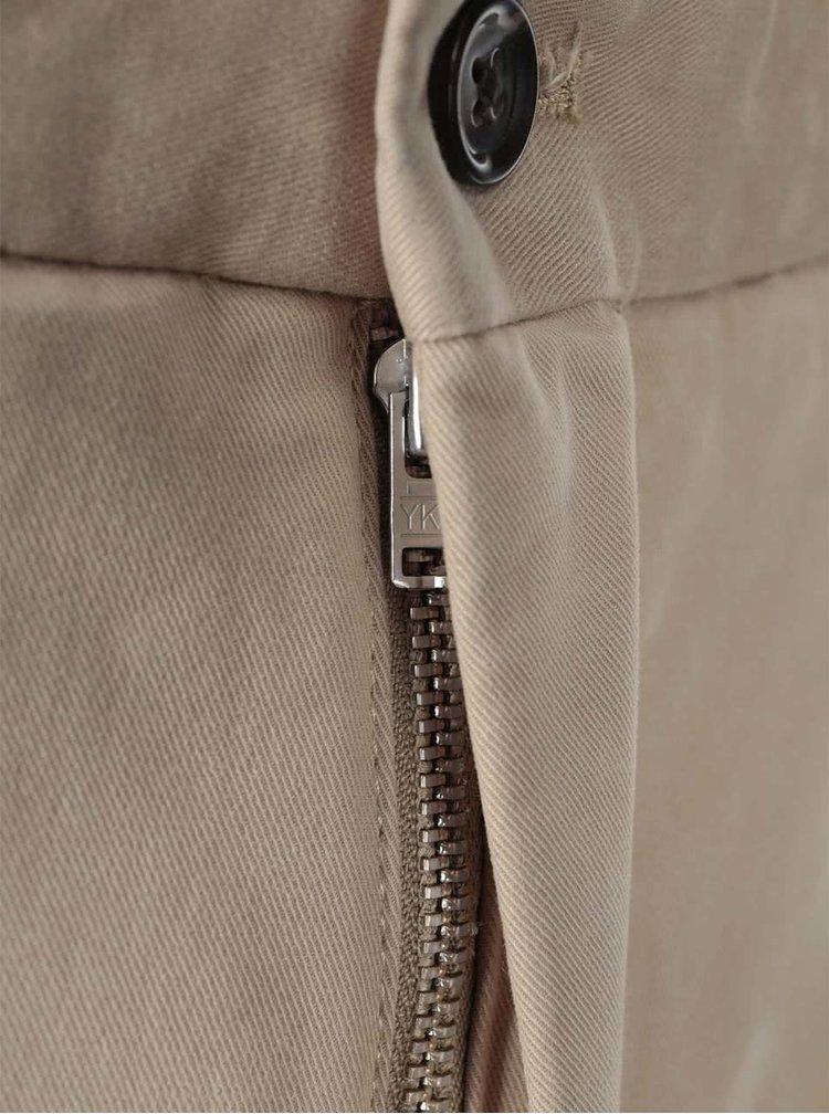 Béžové nohavice J.Lindeberg Chaze