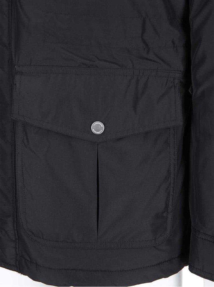 Jachetă Foreman neagră cu buzunare cu J.Lindeberg