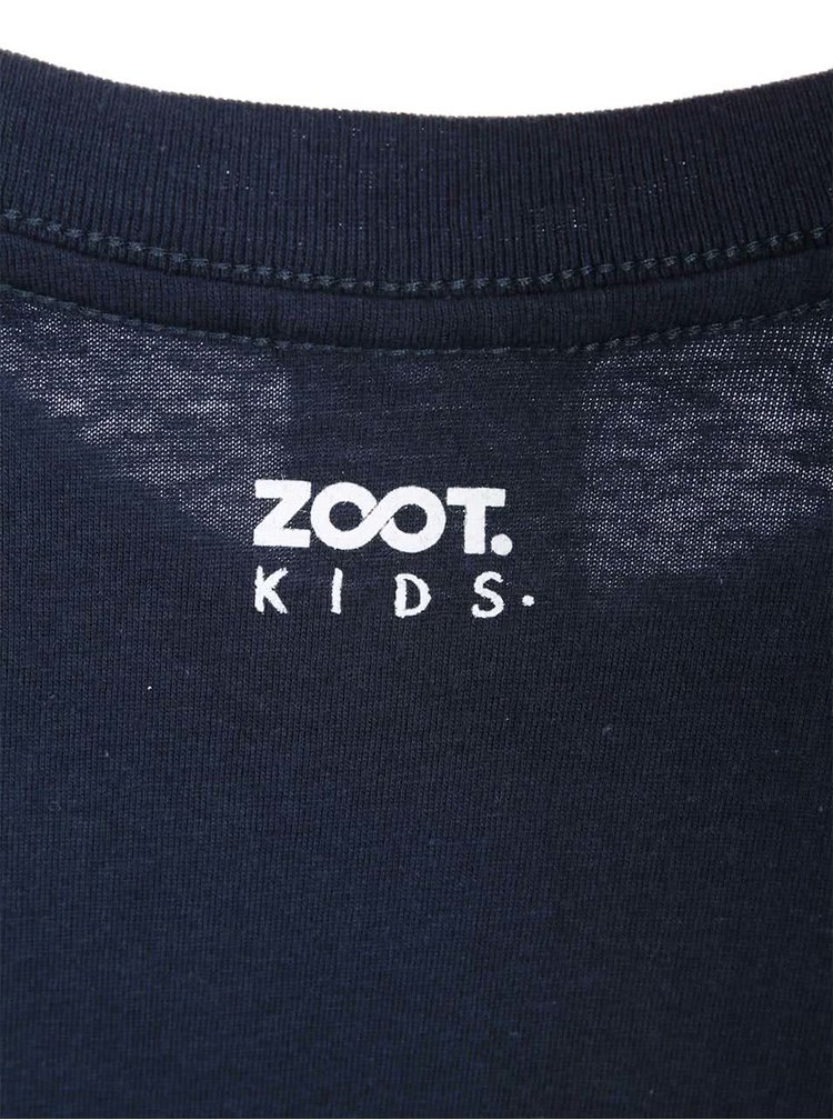 Tricou ZOOT Kids albastru închis pentru copii