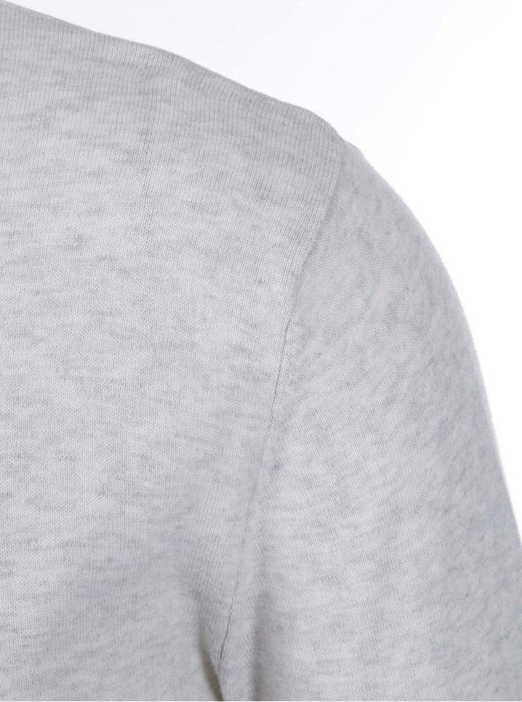 Selected Dome Grey and Beige Melange Jumper