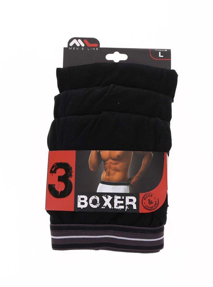 Set de trei boxeri negri de la Marginal