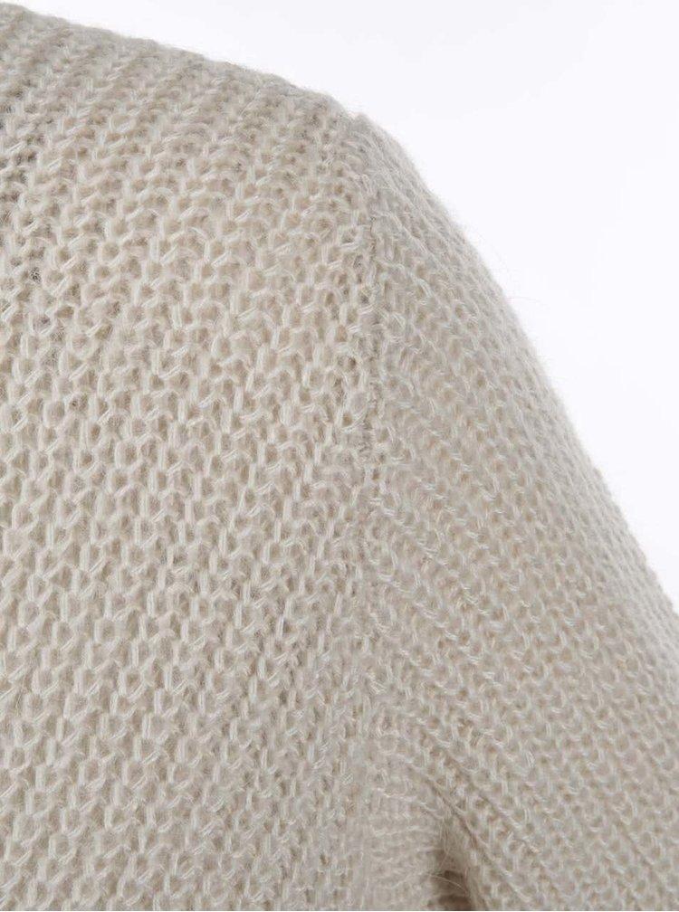 Krémový sveter VILA Match