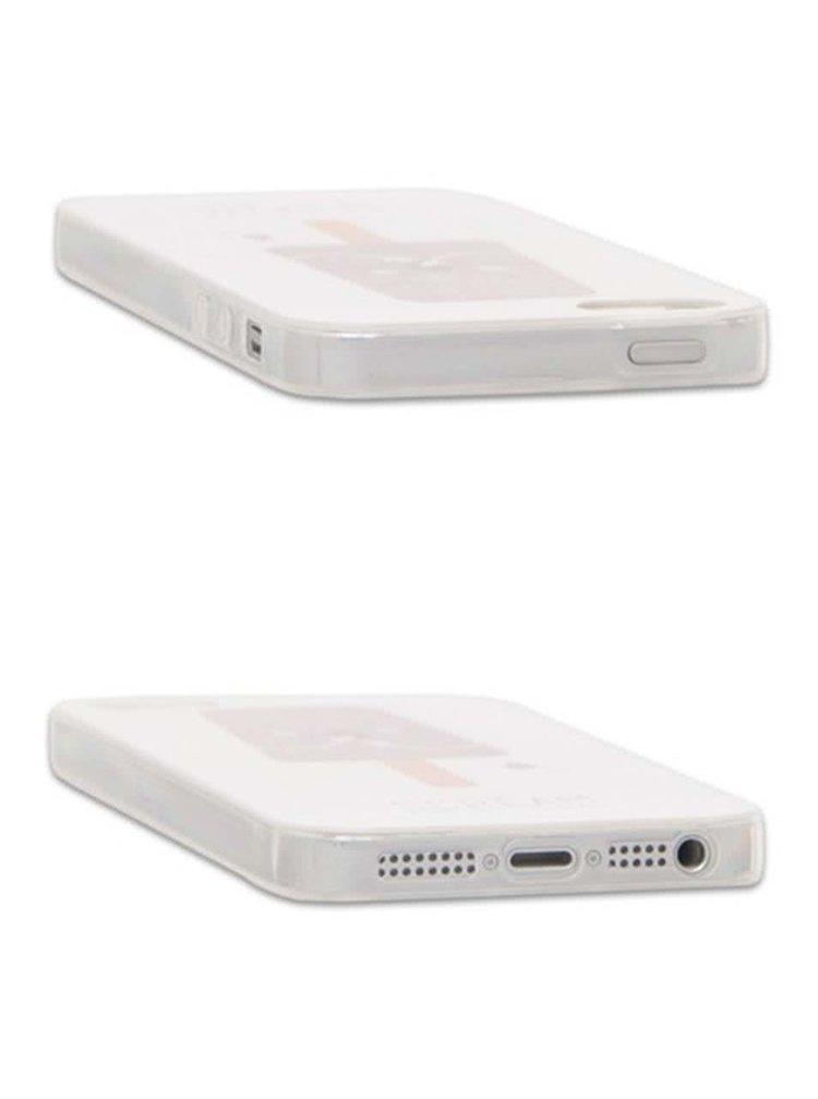 Bílý ochranný kryt na iPhone 5/5s Epico Scream