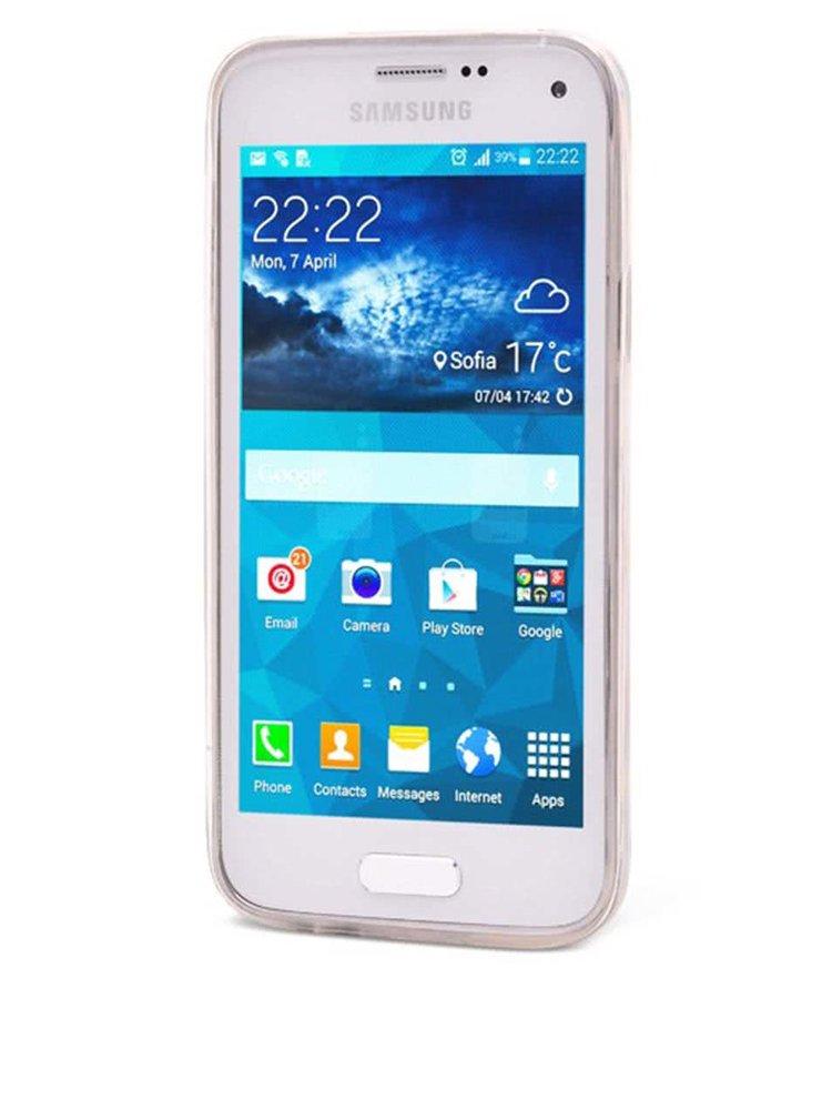 Modrý ochranný kryt na Samsung Galaxy S5 mini Epico Iceberg