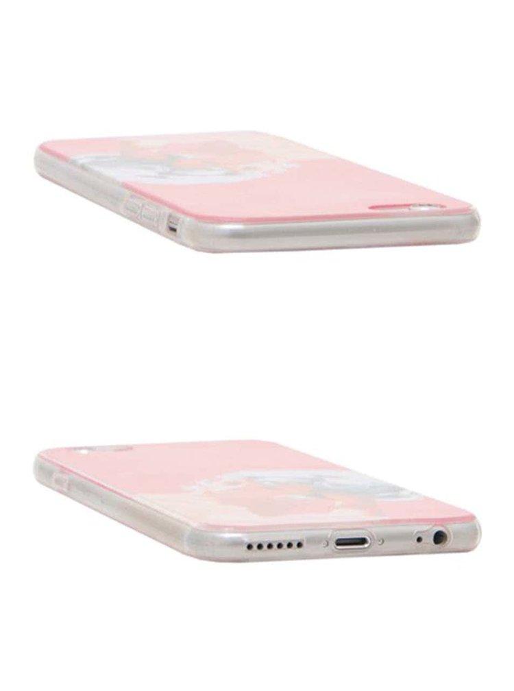 Růžový ochranný kryt na iPhone 6/6s Epico Bluehead