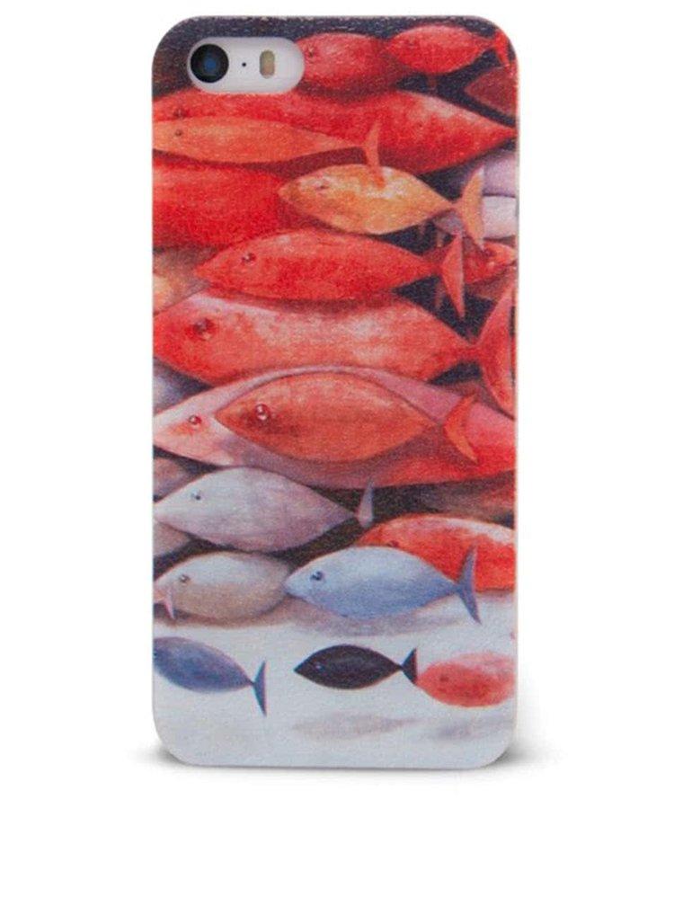 Barevný ochranný kryt na iPhone 5/5s Epico Fish