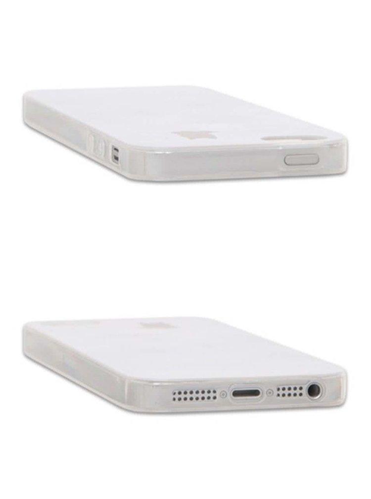 Šedý ochranný kryt na iPhone 5/5s Epico Fading Cats