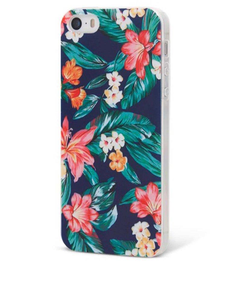 Husa pentru Phone 5/5S Epico Flowery, cu plastic flexibil