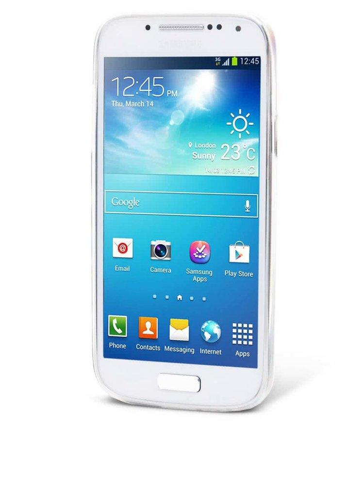 Bílý ochranný kryt na Samsung Galaxy S4 mini Epico In The Sky
