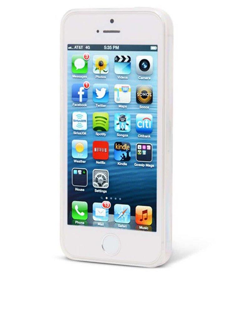 Světle modrý ochranný kryt na iPhone 5/5s Epico Doggie