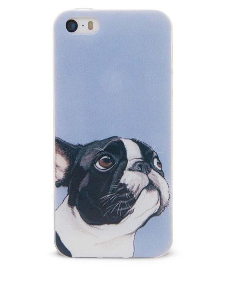 Fialový ochranný kryt na iPhone 5/5s Epico Doggie