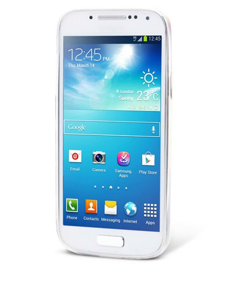 Carcasă Epico Fading Cats gri pentru Samsung Galaxy S4 Mini