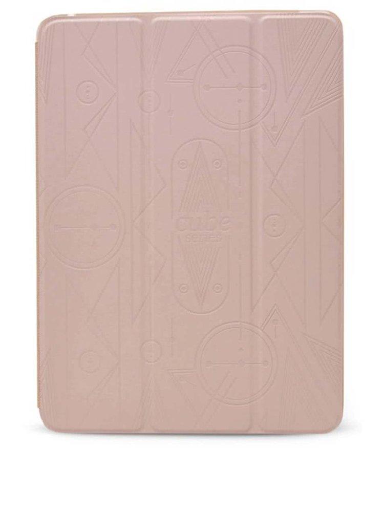 Béžový kožený kryt na iPad Air 2 Epico Hoco Cube