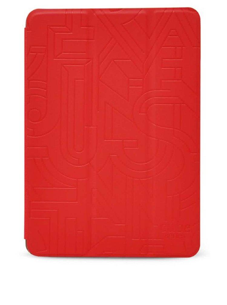 Červený kožený kryt na iPad Mini 3, 2, 1 Retina Epico Hoco Cube