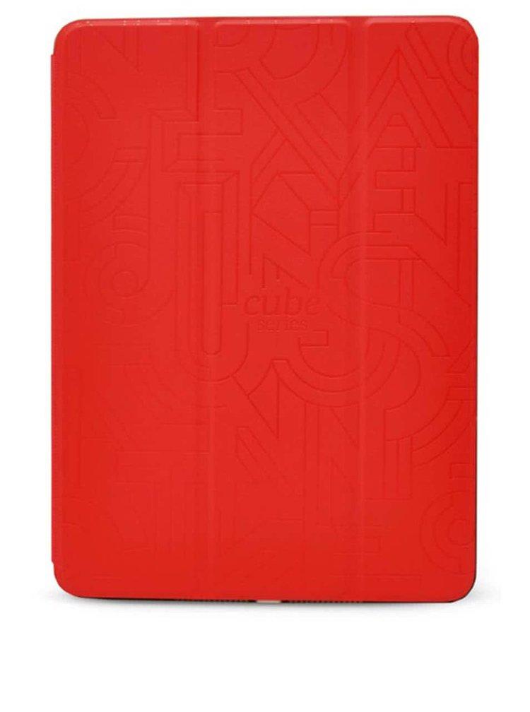 Červený kožený kryt na iPad Air 2 Epico Hoco Cube