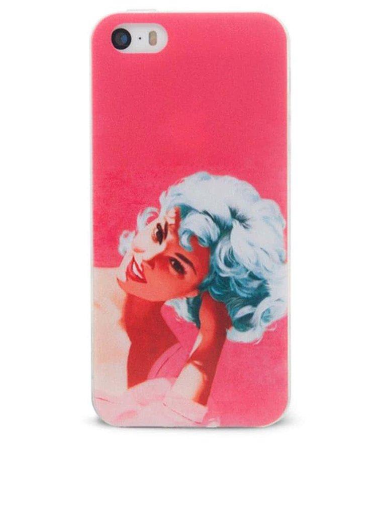 Ružový ochranný kryt na iPhone 5/5s Epico Bluehead