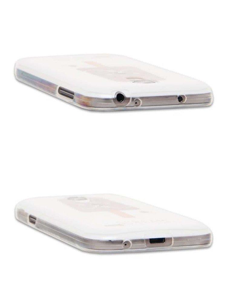 Ružový ochranný kryt na Samsung Galaxy S4 mini Epico Scream