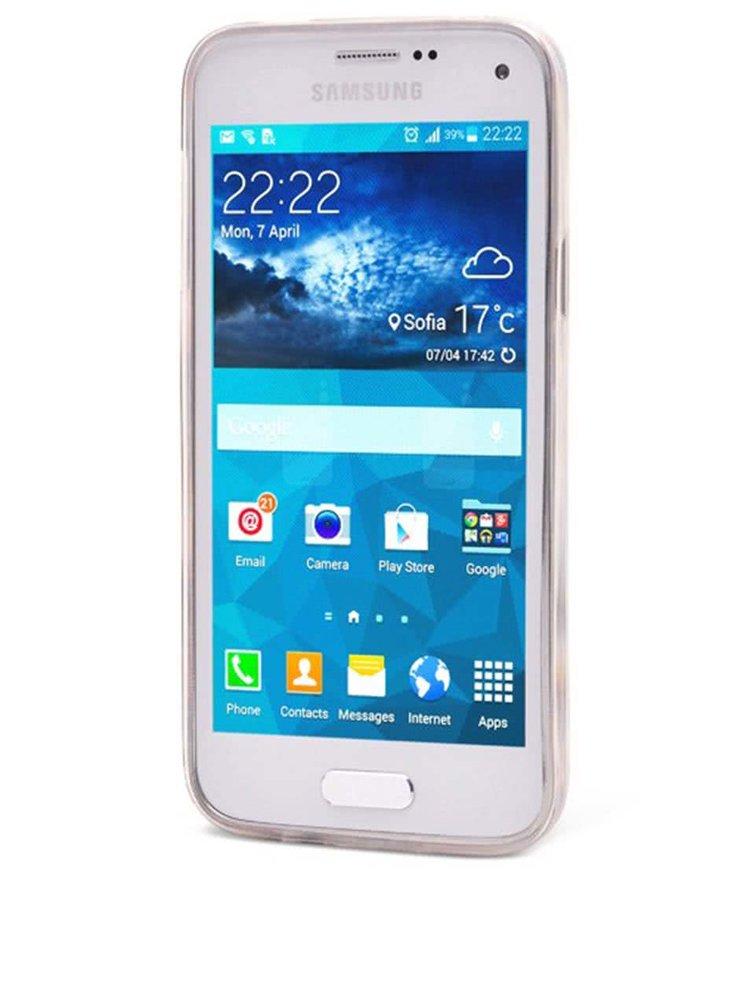 Bílý ochranný kryt na Samsung Galaxy S5 mini Epico Scream
