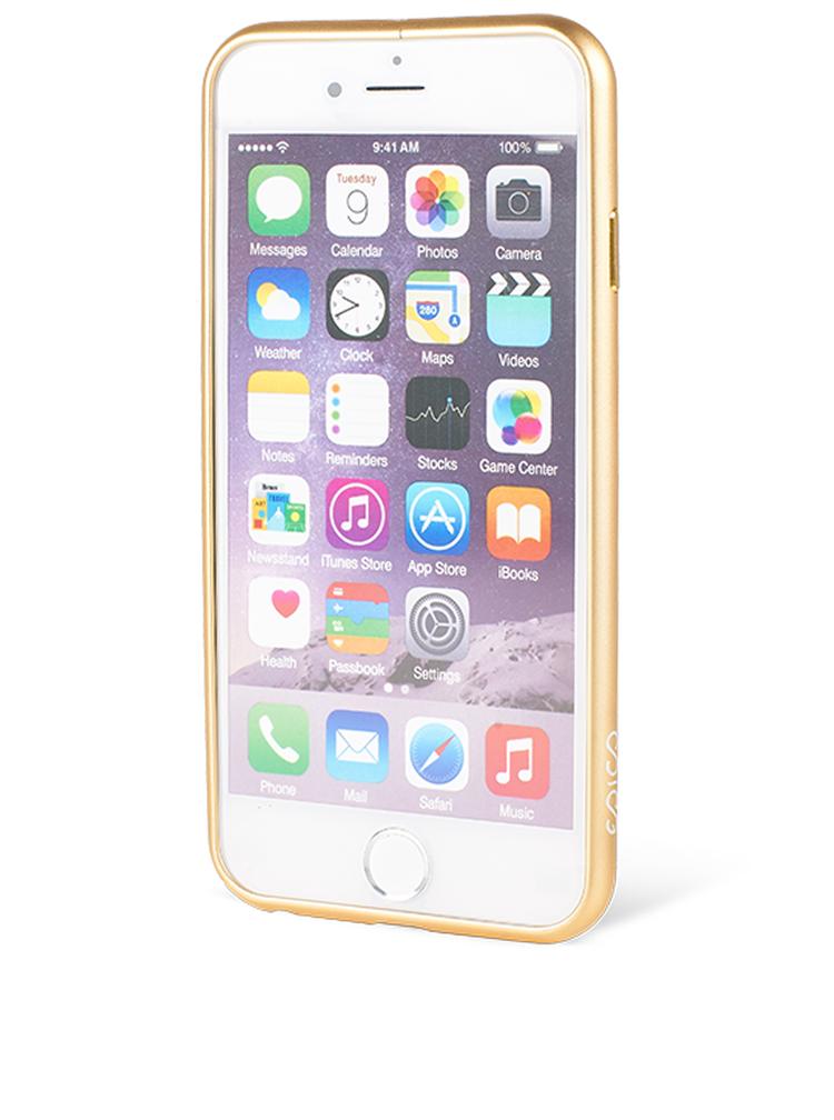 Hliníkový rámeček na iPhone 6/6s ve zlaté barvě Epico Hero Hug