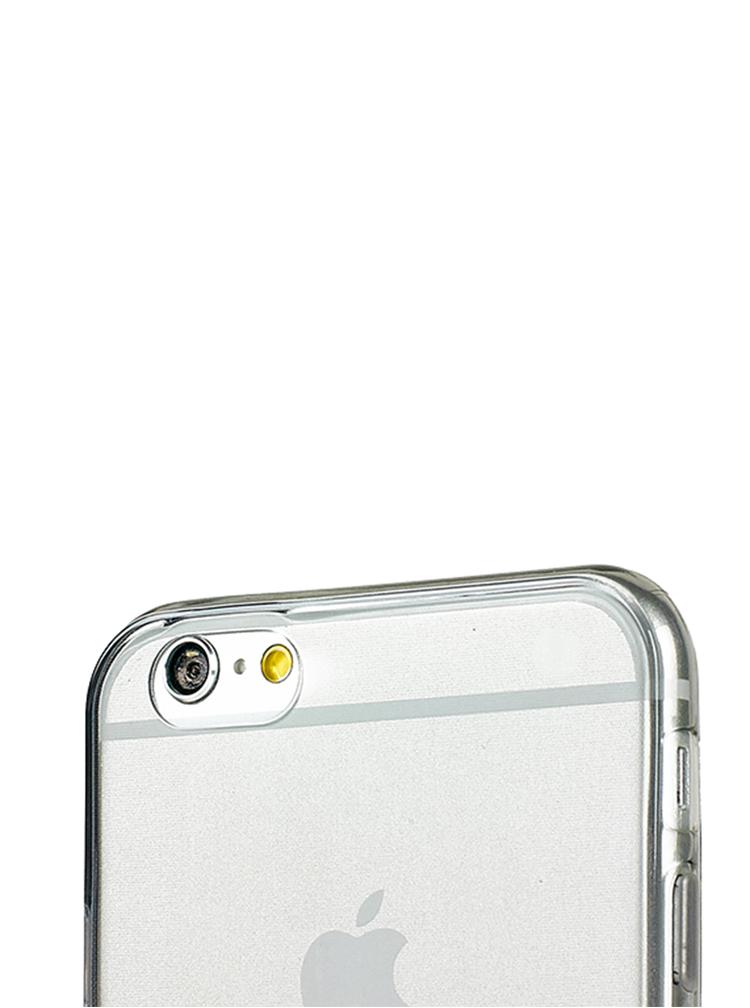 Šedý ultratenký transparentní kryt na iPhone 6/6s Epico Twiggy Gloss