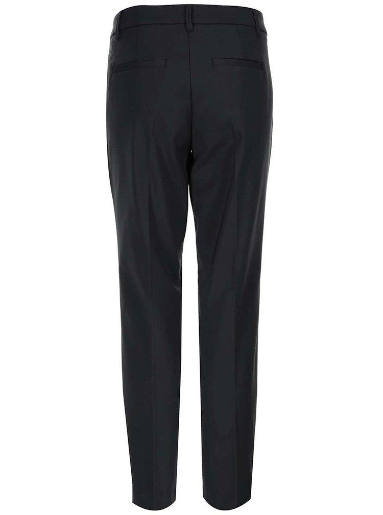 Pantaloni negri plisați s.Oliver