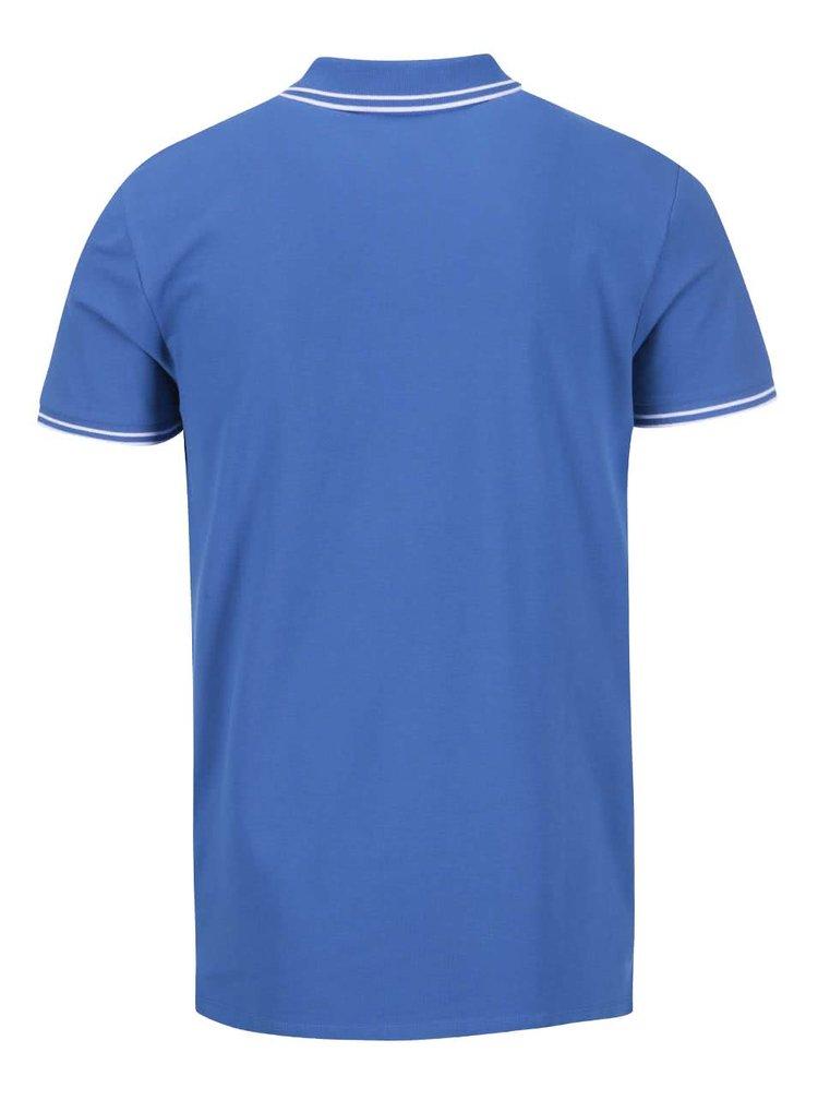 Světle modré polo triko Jack & Jones Thom