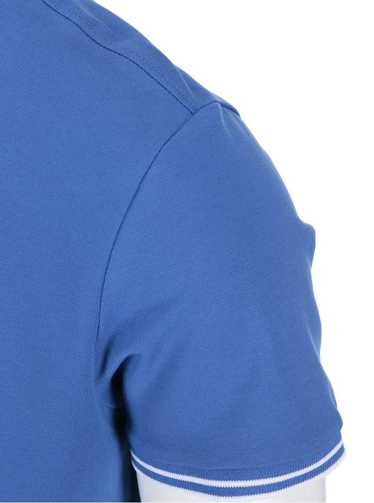 Tricou polo albastru deschis Jack & Jones Thom