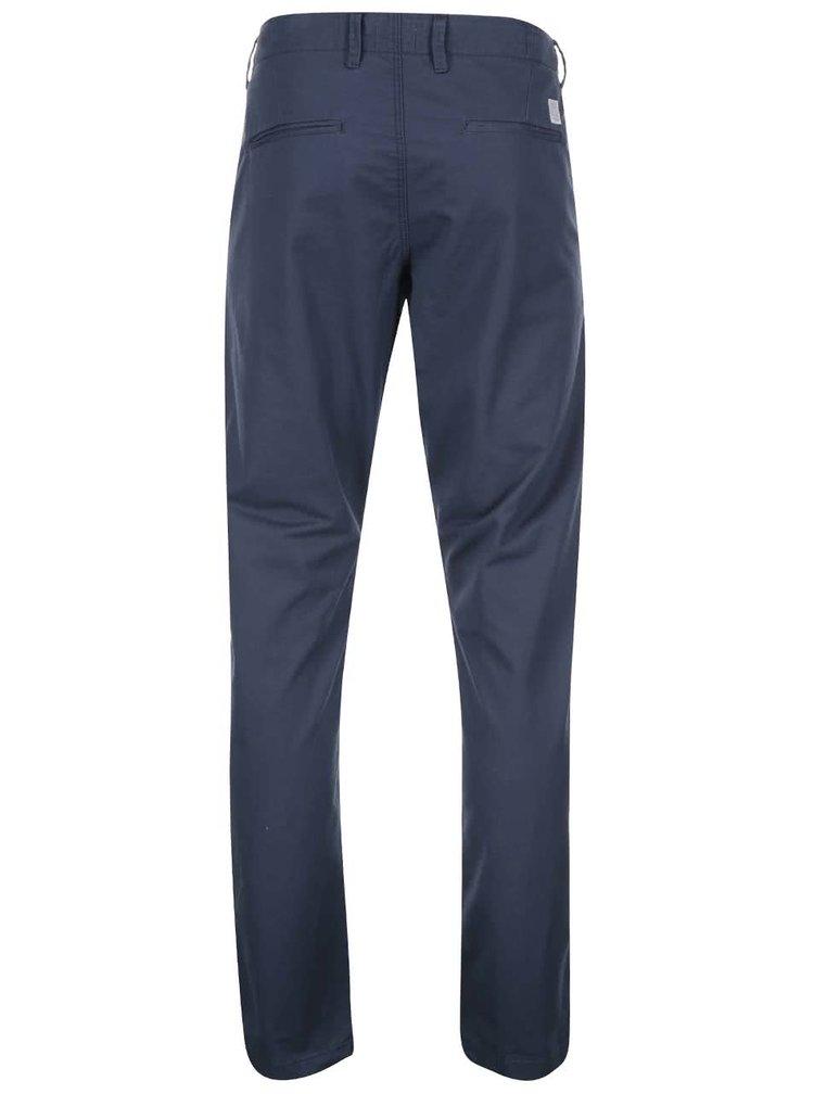 Tmavě modré chinos kalhoty Jack & Jones Cody