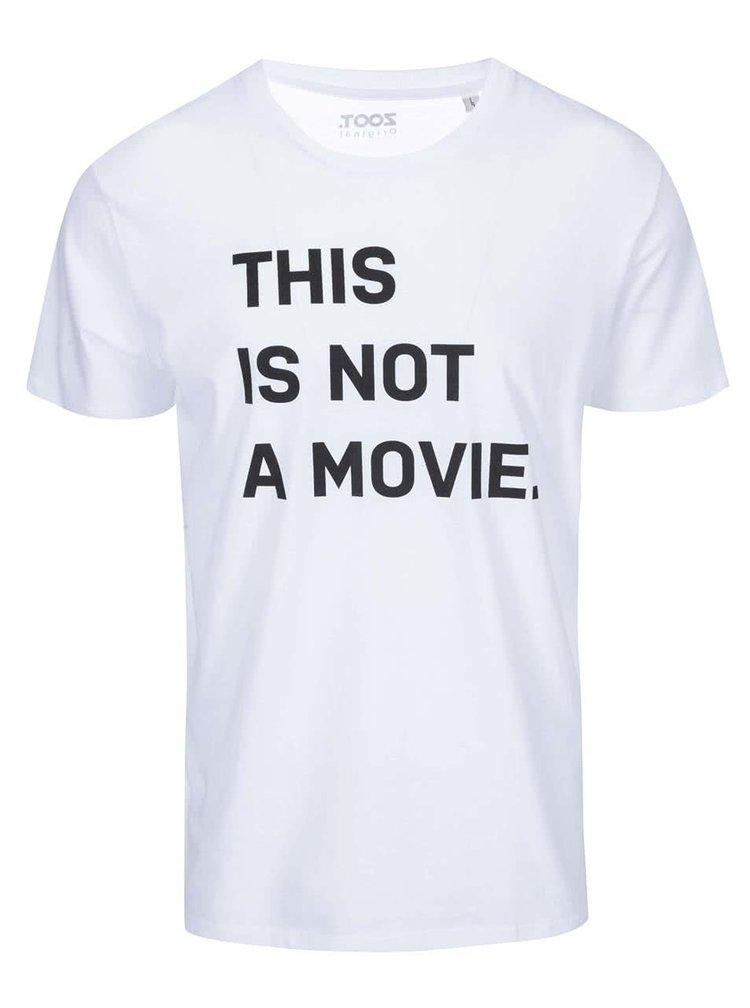 Bílé pánské triko s potiskem ZOOT Originál This Is Not A Movie