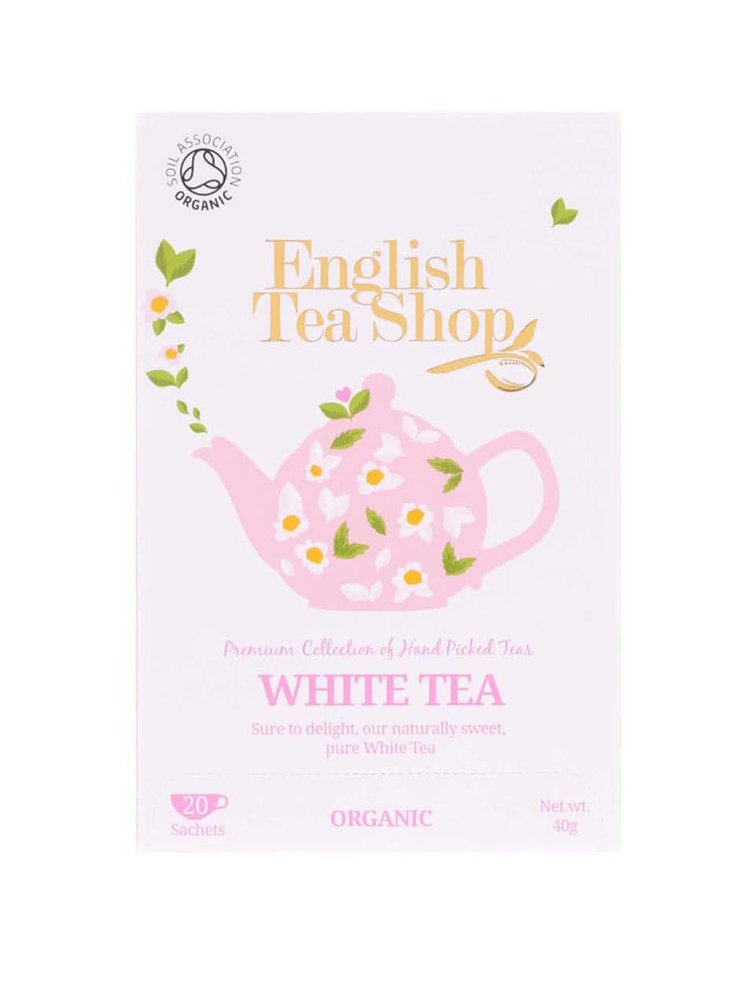 Čisto biely čaj English Tea Shop Bio