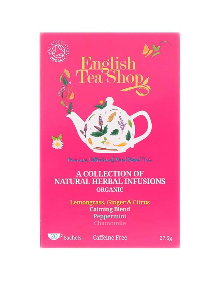 Mix de ceaiuri din plante organice English Tea Shop Bio