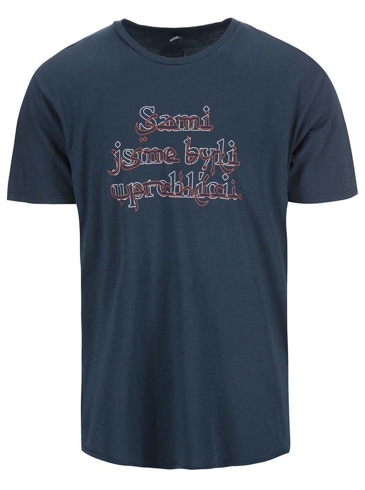 """""""Dobré"""" petrolejové pánské tričko pro OPU a UNHCR"""